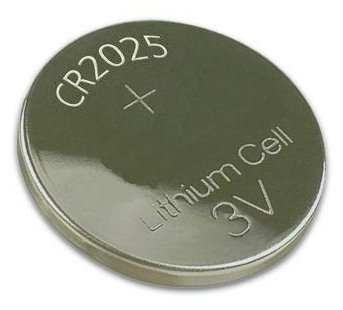 CR2025 LITHIUM 3V BUTTON/COIN CELL BATTERY - JAPAN