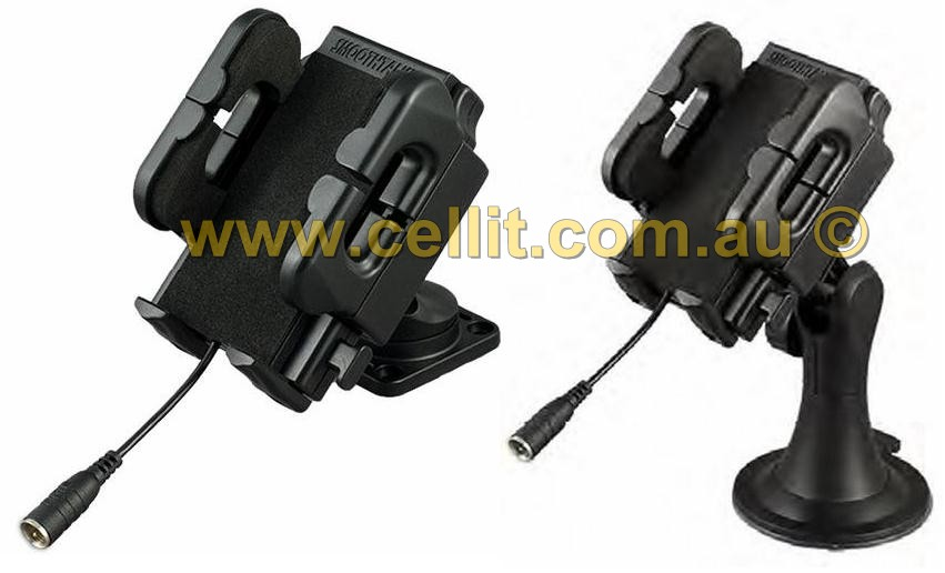 UNIVERSAL PHONE HOLDER CRADLE. SUCTION OR DASH MOUNT + FME ANTENNA CONNECTOR
