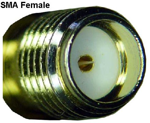 SMA to SMA Female Female connector