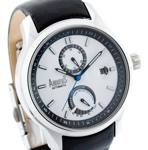 ARBUTUS 'POWER RESERVE' AUTOMATIC GENTS WATCH - 81WB COUNCILOR