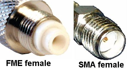 FME female TO SMA female ADAPTOR