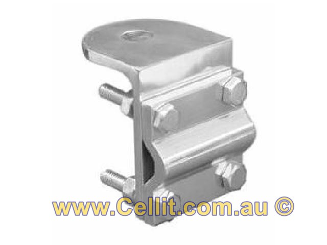 CAR ANTENNA MIRROR/POLE MOUNTING BRACKET - LIGHTWEIGHT ALLOY