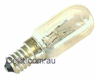 MICROWAVE OVEN & FRIDGE LIGHT BULB/GLOBE 25w 240v ES14 14mm LAMP