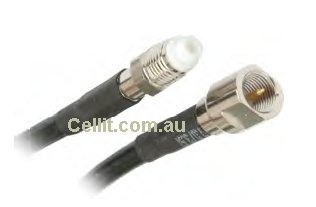 FME Extension LL195 Low Loss Coaxial Cable. FME Male - Female Coax