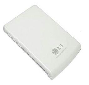 LG GENUINE BATTERY FOR KG800 - CHOCOLATE MOBILE PHONE. WHITE. - Click Image to Close