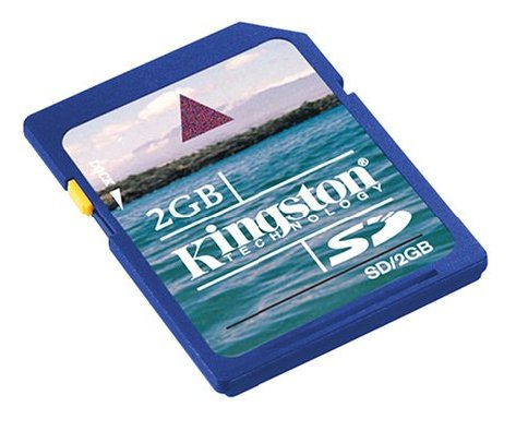 KINGSTON SD MEMORY CARD - 2GB