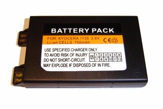 KYOCERA BATTERY For QCP 1135 2035 2135 2235 + OTHERS