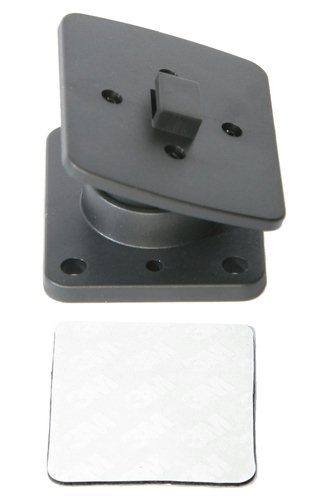BRACKET OPTION FOR MOUNTING PATCH LEAD CRADLE. DASH SCREW OR TAPE MOUNT