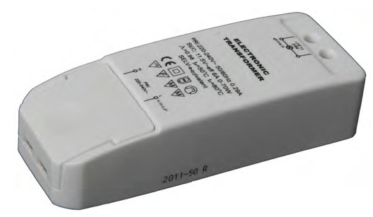 ELECTRONIC TRANSFORMER FOR LED and HALOGEN LAMPS