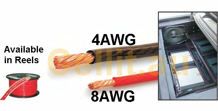4AWG & 8AWG Cable - Cellit.au