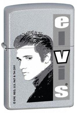 ELVIS PRESLEY GENUINE ZIPPO LIGHTER - COLLECTOR SERIES